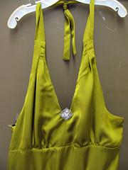 Curvy Girl Prom Dress Bling Detail
