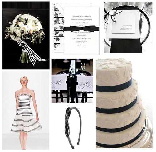 3311719564 d59d6ecf21 Baú de ideias: Decoração de casamento preto e branco