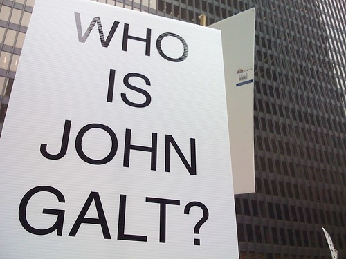 A specter is haunting the world, the specter of John Galt...