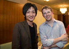 With Matt at WordPress Kansai