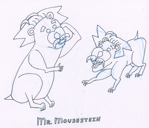 Mouse, part 8 (rough sketch)