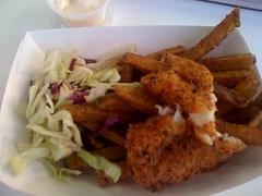 Red Snapper Fish and Chips