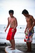 Surf lessons start