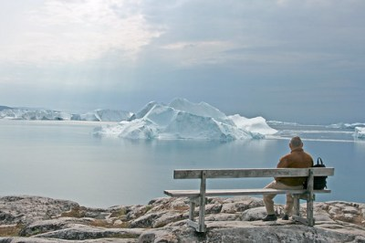 Old man and ice - Ilulissat- photo : BortaBra.se