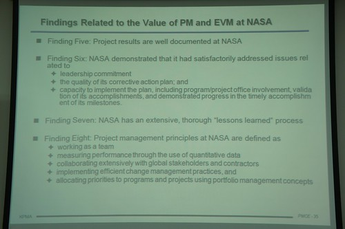 Applications and Trends of EVM in US Government (NASA & FAA)