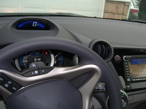 Inside Honda Insight 2010