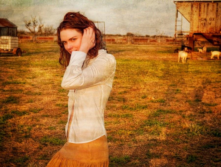 Leslie Walks Across Her Farm