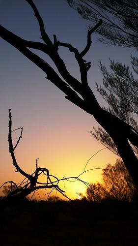 Uluru shadows