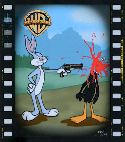 Daffy gets shot
