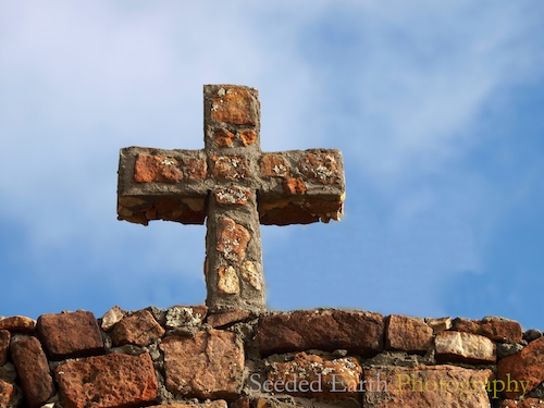 first in a series of crosses in New Mexico