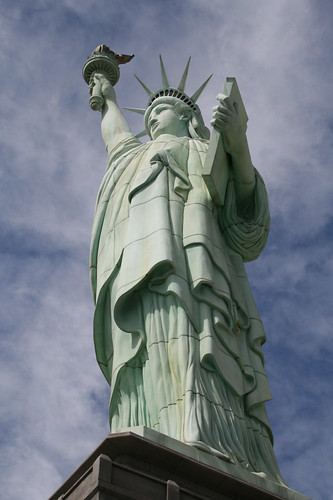 Statue Of Liberty At New York New York Hotel