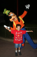 Aidan and Goofy