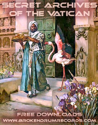 Secret Archives online publicity artwork