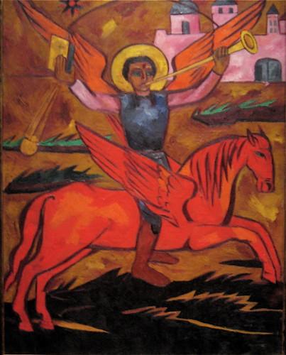 The Archangels Michael, Gabriel, Raphael and Uriel