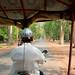 Tuk Tuk drive to Angkor Thom