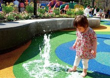 she loved this particular little fountain