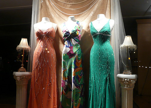 Three evening gowns