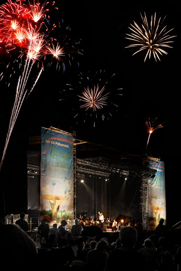 Pic by by jamesburger, 2007. (Yes there were fireworks!)