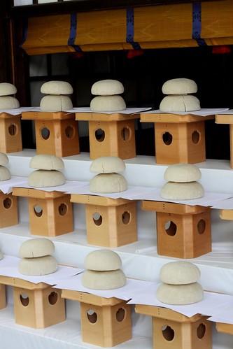 Offerings at Meiji Shrine