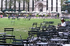 Bryant Park one muggy morning