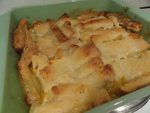 Judge Not Lest Ye Be Judged Peach Cobbler