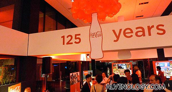 Coca-cola is 125!