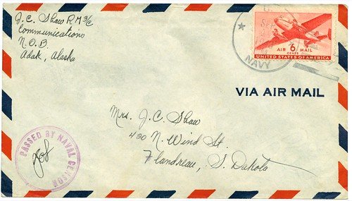 the estate of things chooses air mail envelope