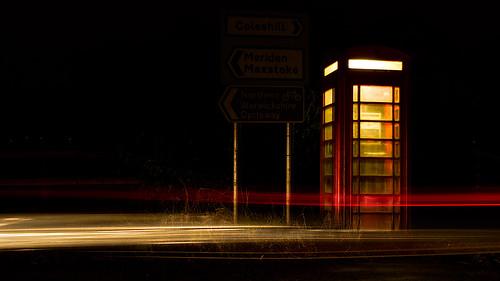 the phonebox, maxstoke, england