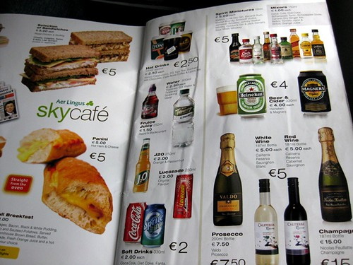 Review of Aer Lingus flight from Dublin to London in Economy