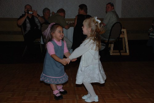 Julie and Ryleah dancing! by you.