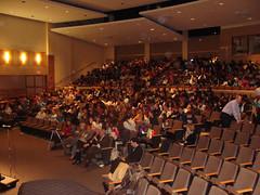 La fête a eu lieu dans le Grand Auditorium de Milton High School