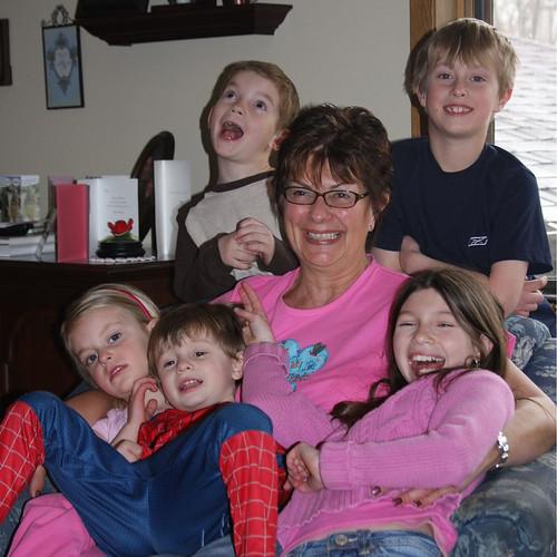 Nana And The Kids