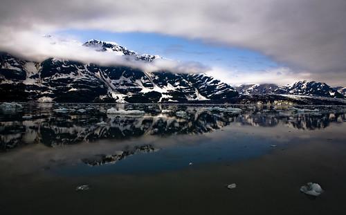 Near the Hubbard Glacier, Yakutat Alaska
