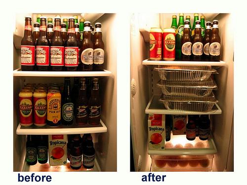 Michael Cheng's fridge