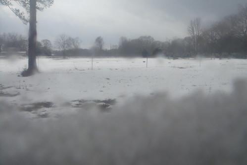 Snow Drift on the Window Ledge