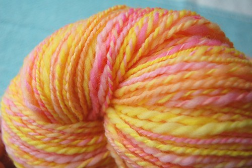 Merino two-ply yarn
