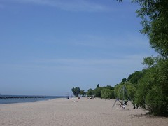 Toronto Island. Literally 10 mins from the heart of Downtown. Beach! Lake! Ice cream!