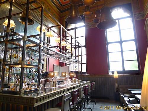 Bar at Gilbert Scott by Marcus Wareing at St Pancras Hotel