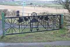 Upleatham Ironstone Mine Commemorative Gate