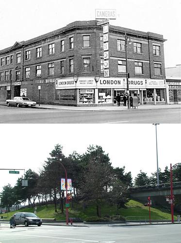 800 Block of Main Street 1968/2009