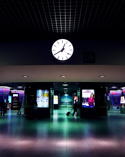 Transit spatio-temporel (Time & Space Transit) (Bruxelles-Midi, Photo : Gilderic)
