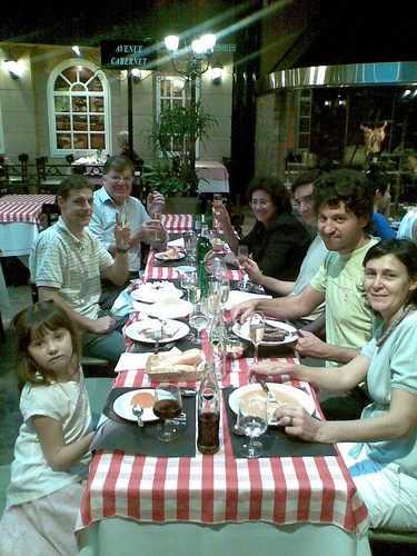 My B-day party at restaurant Cle in Caballito 2009