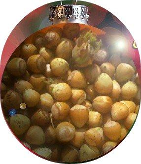 Zucchini und Haselnüsse kombiniert schmecken gut