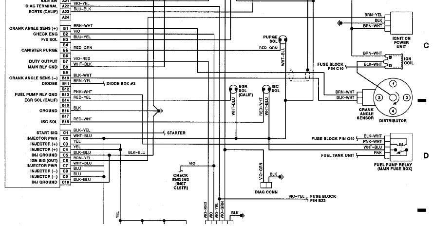 mitsubishi pajero 1991 wiring diagram