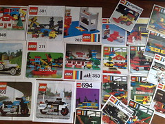lego building instructions from 1970's