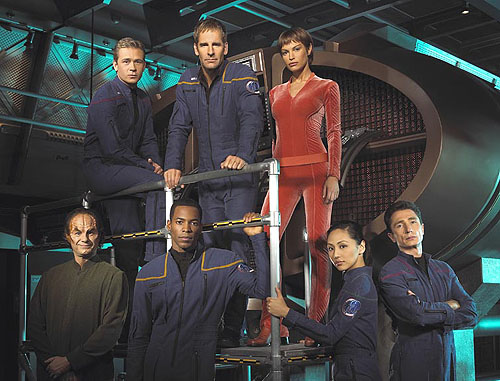 In Contrast-Starship Enterprise NX01: Captain Archer and his minions