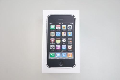 iPhone 3GS 盒子正面照