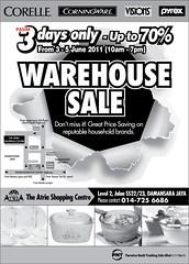 Corelle Corningware Visions Pyrex warehouse sale