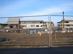 Redcar and Cleveland College Demolition