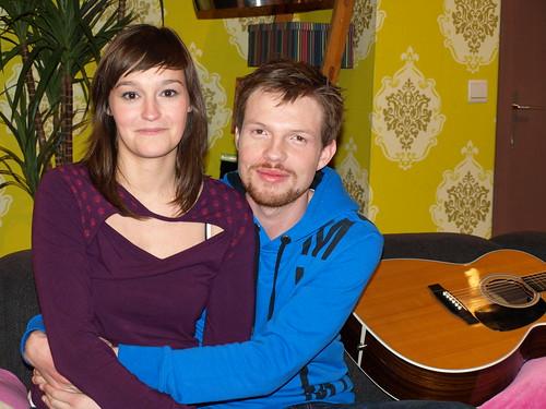 Paulien en haar gitarist